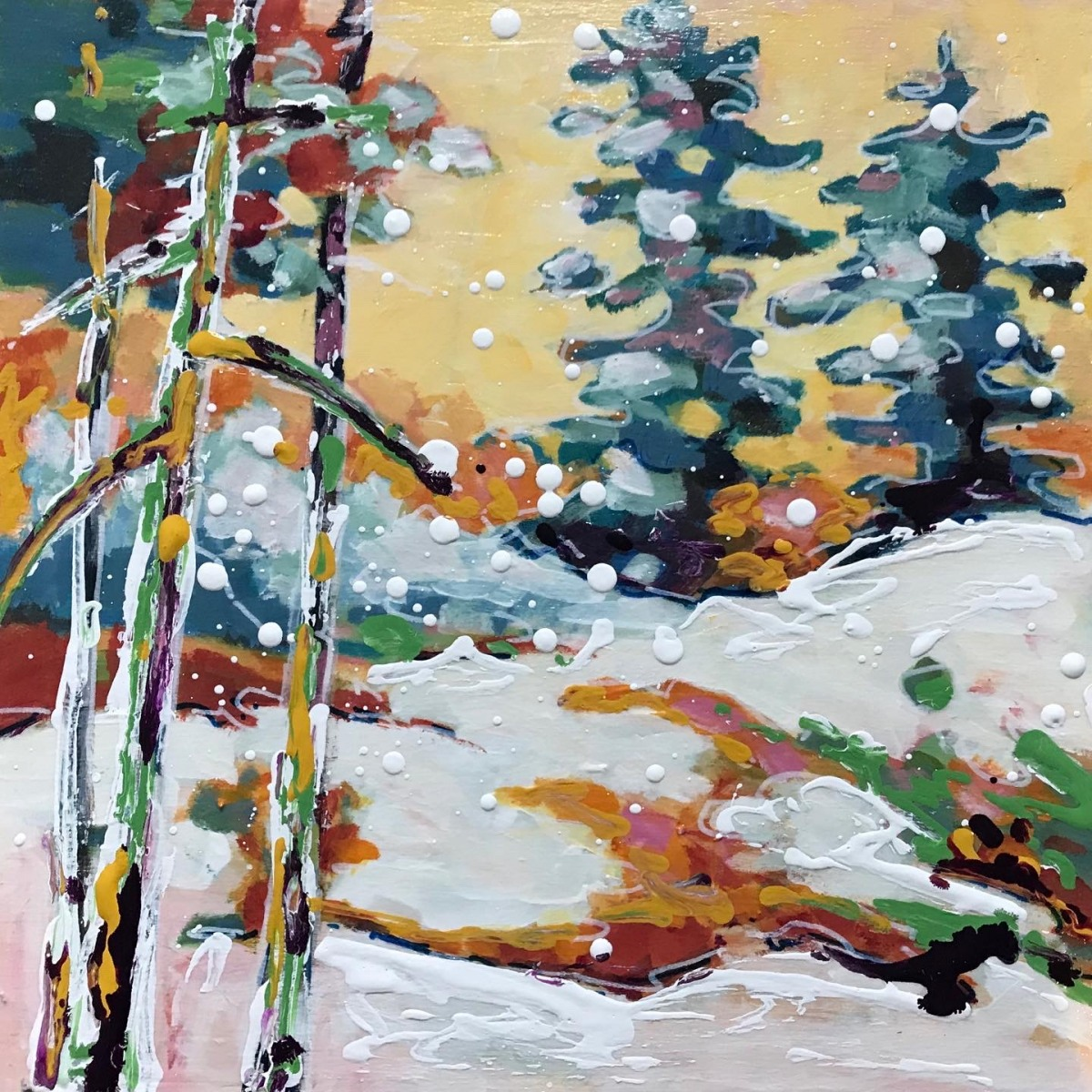 SOLD - SNOWSHOE TRAILS
