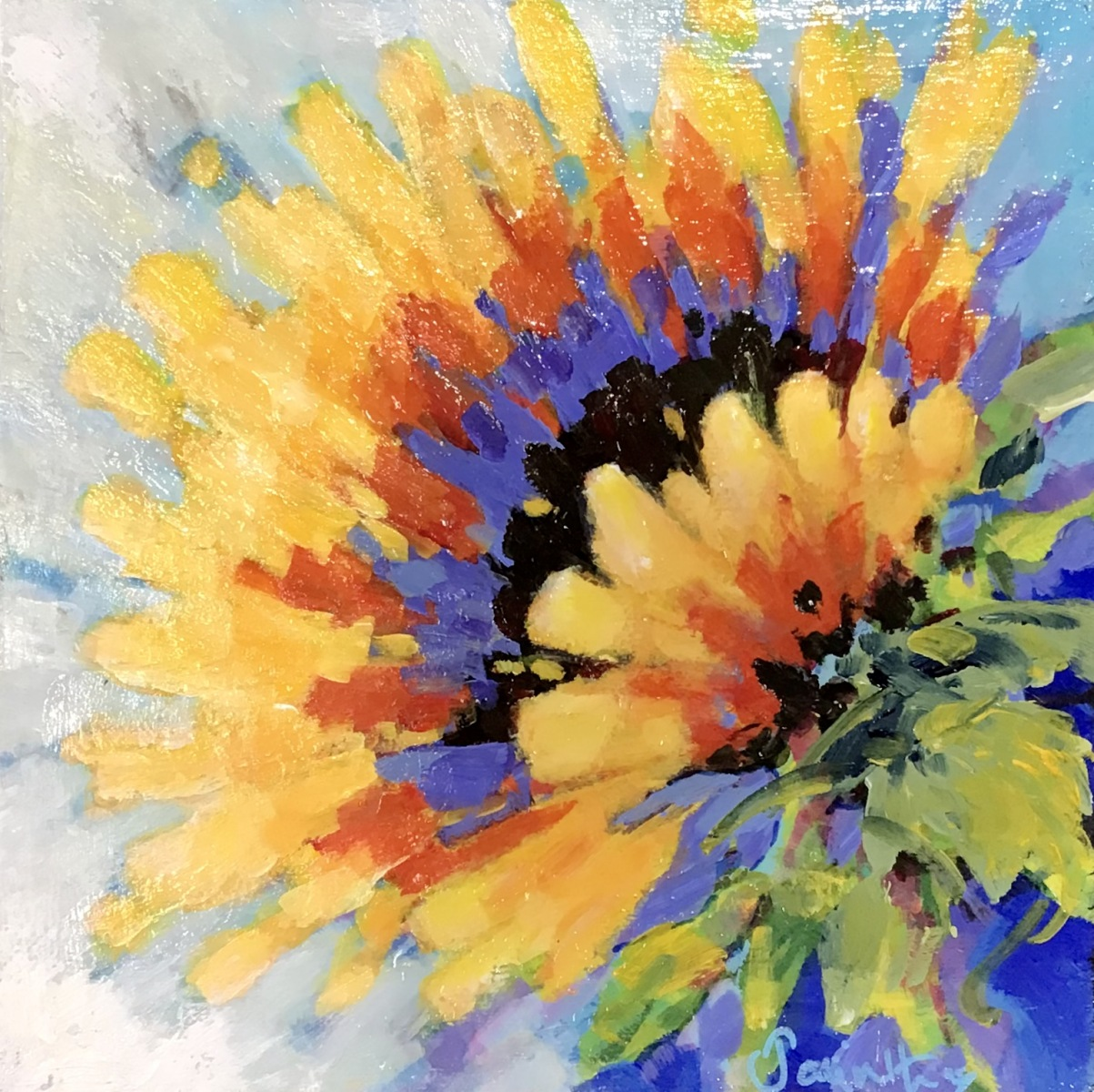 SOLD - SUNBURST