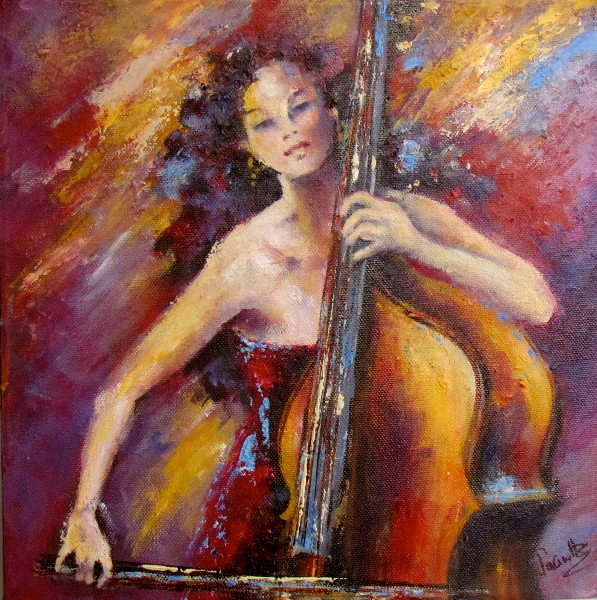RHYTHM OF THE CELLO - SOLD
