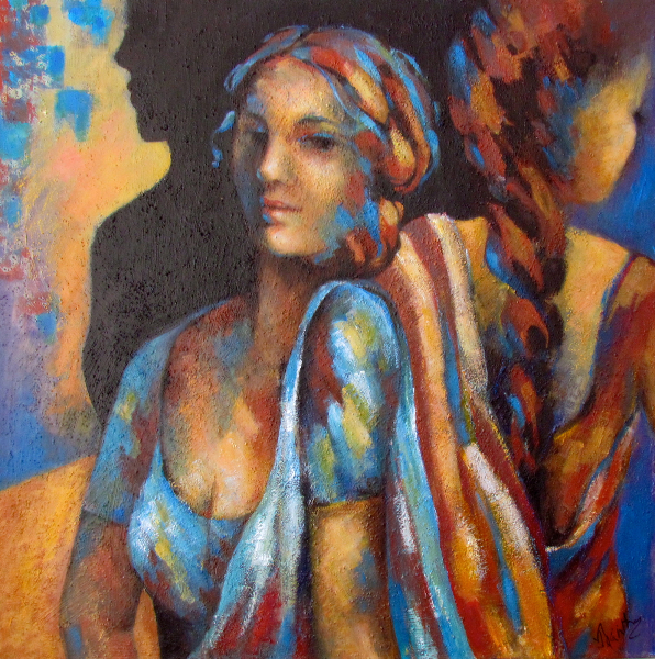 WOMEN IN COLOUR - SOLD