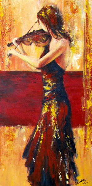 RHAPSODY IN RED - SOLD
