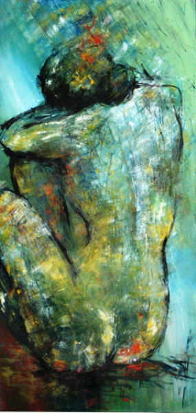 SEATED NUDE - SOLD