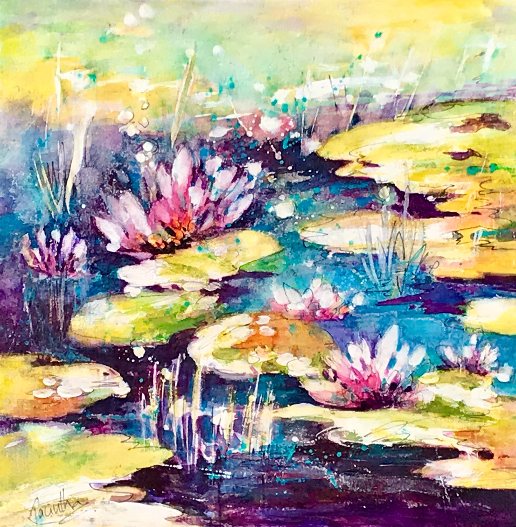 SOLD- LILY POND