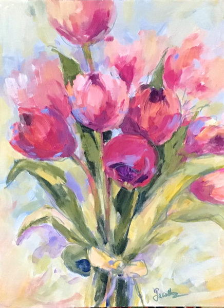 SOLD -  PINK PROFUSION