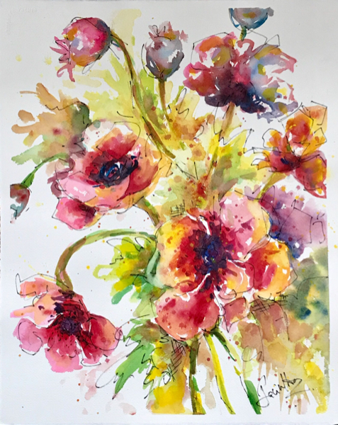 SOLD - SUMMER BLOOMS