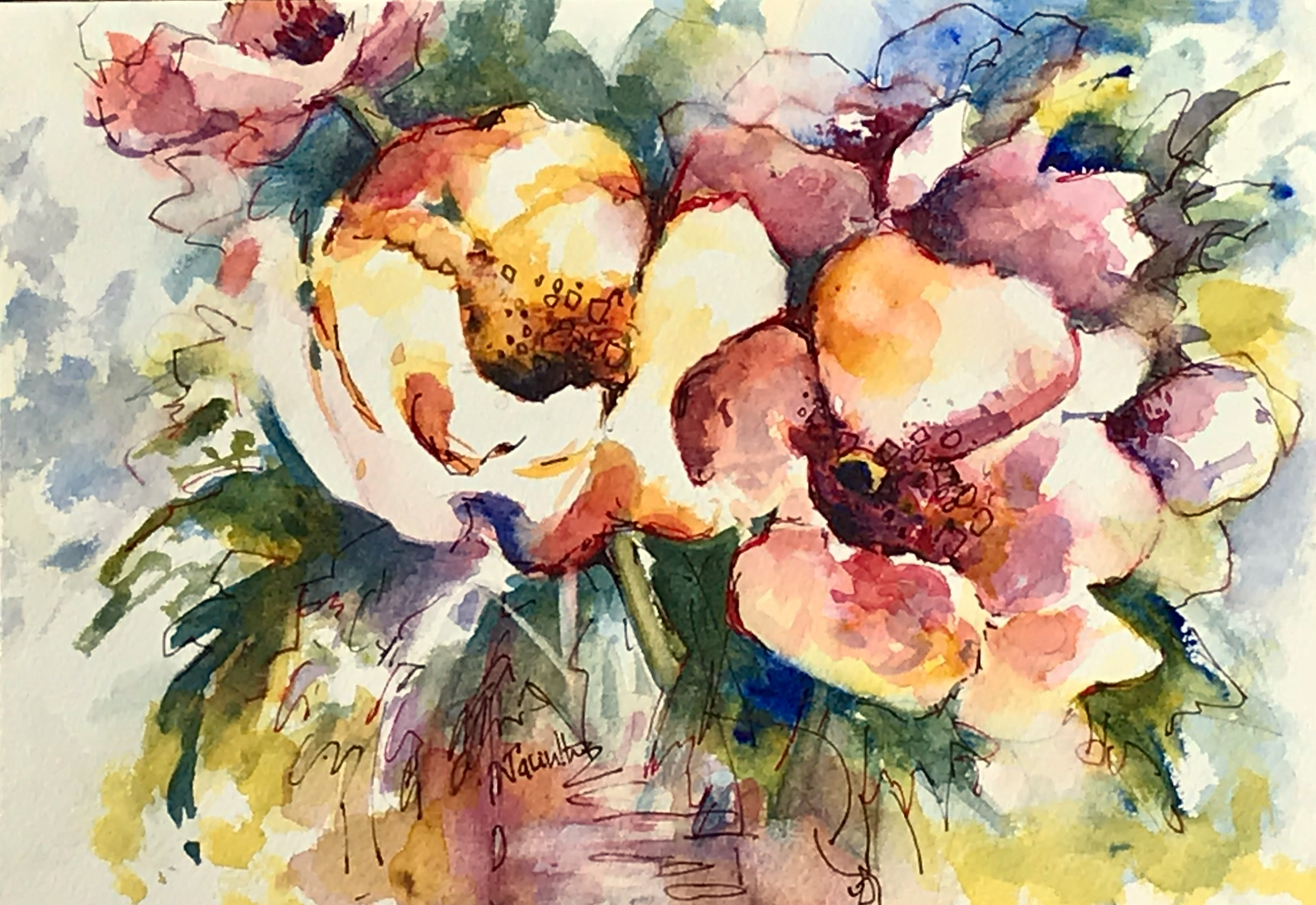 GARDEN CAMELLIAS -  SOLD