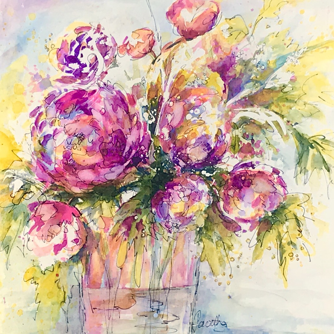 SOLD - GARDEN BOQUET