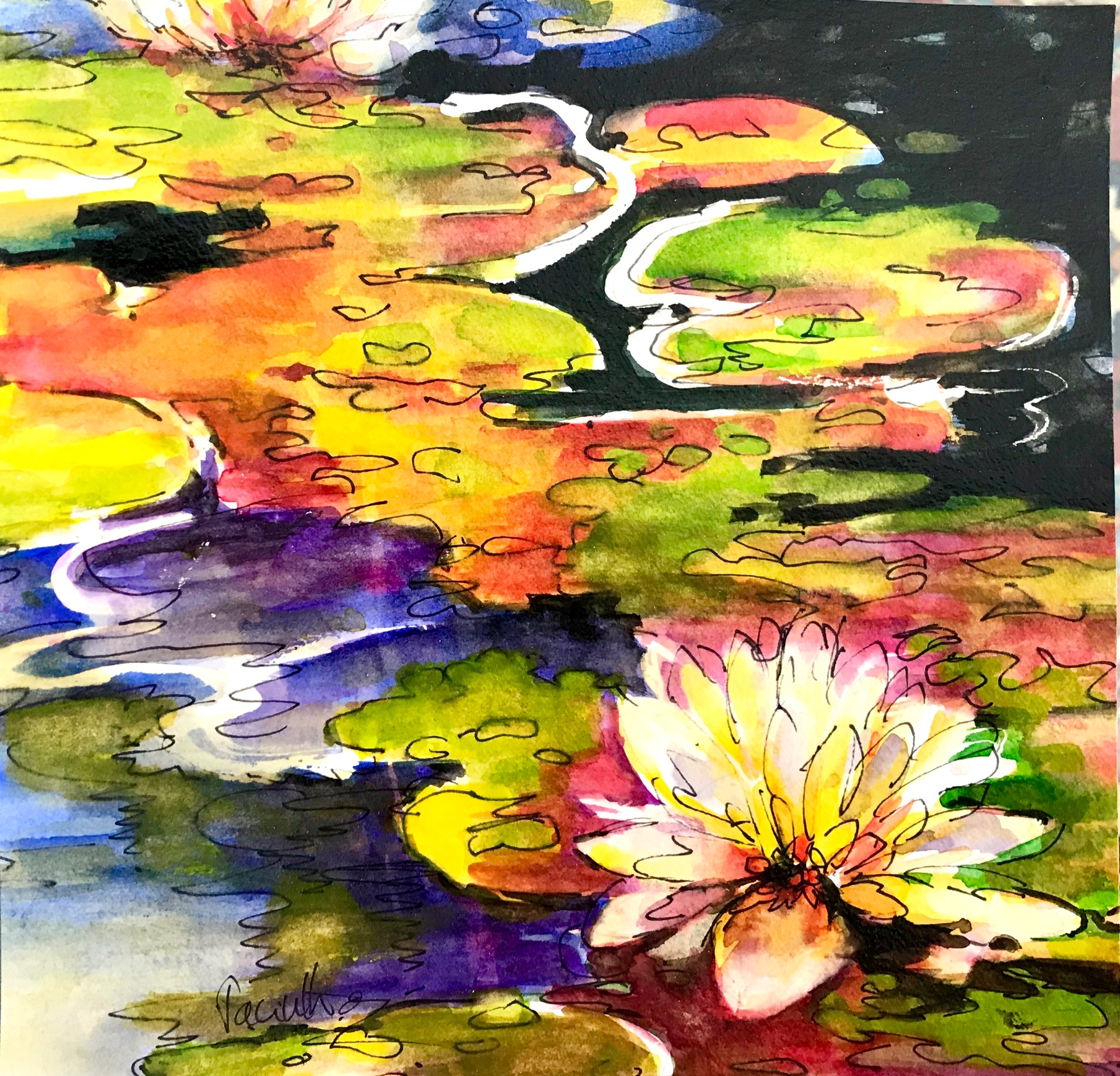 SOLD - LILY POND