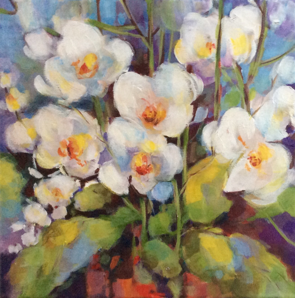 WHITE ORCHIDS - SOLD