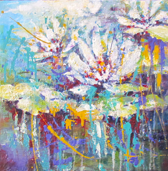SOLD- WATER LILIES