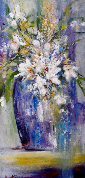 White Blooms - SOLD