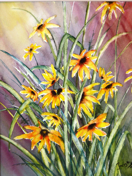 BLACK EYED SUSANS - SOLD