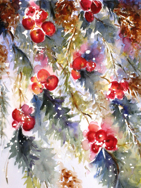 WINTER BERRIES - SOLD