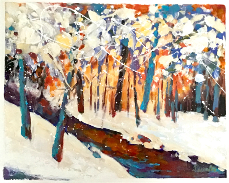 SOLD - WINTER HUES