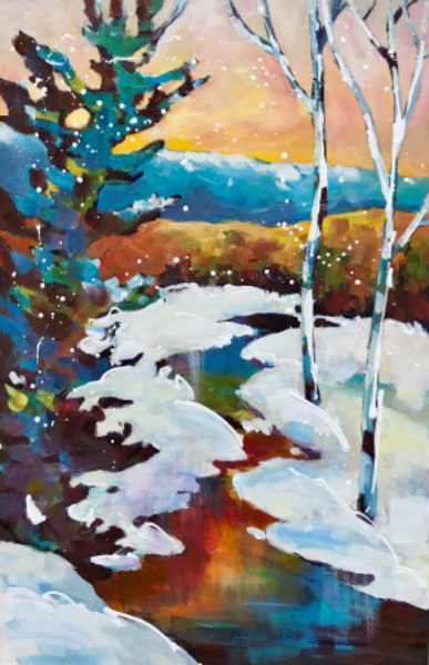 SOLD - WINTER SUNRISE
