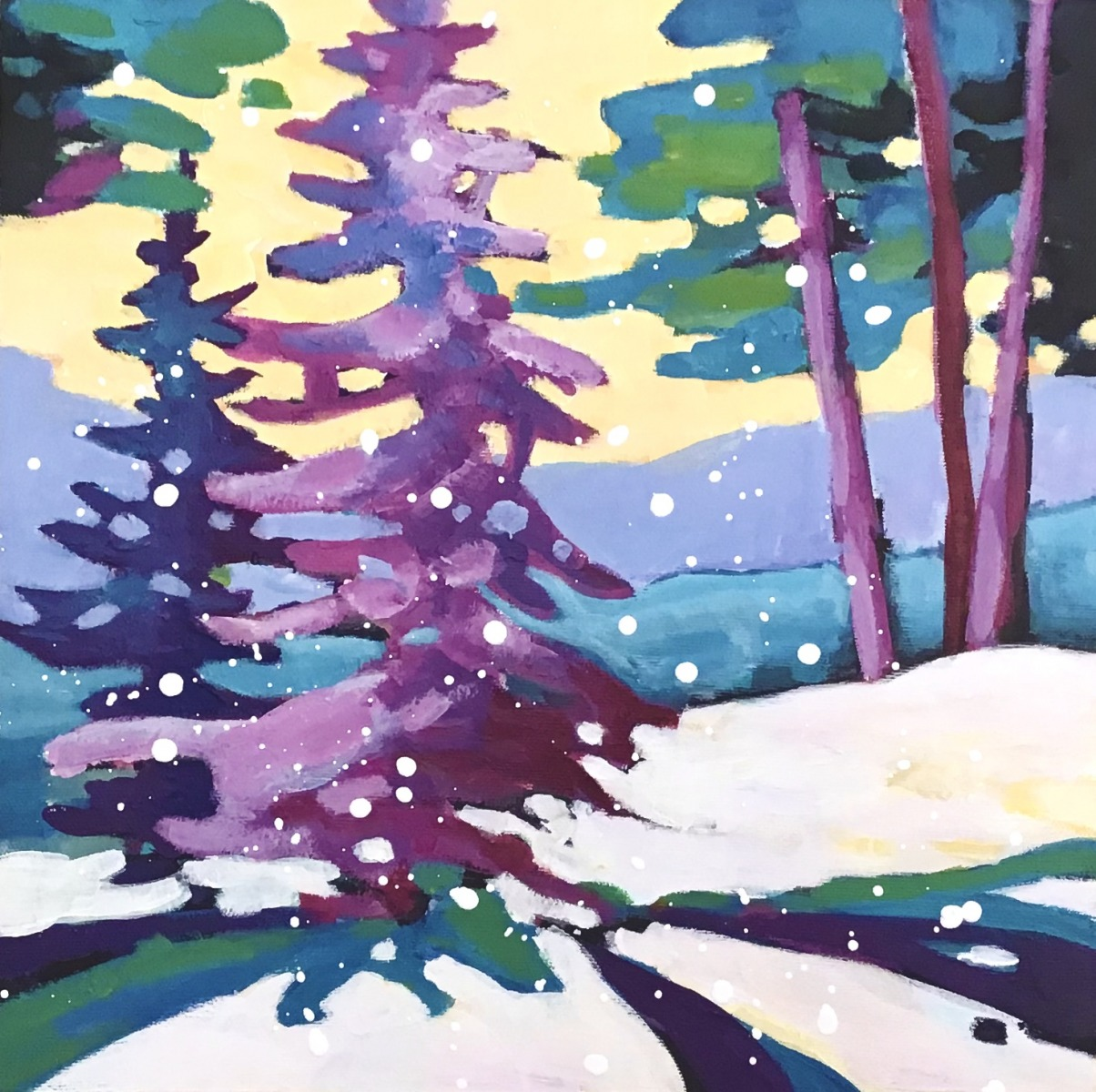 SOLD - SERENITY OF SNOW