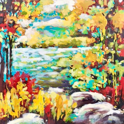 SOLD - AUTUMN IN MUSKOKA