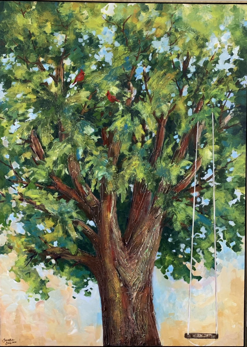 SOLD - THE OLD MAPLE TREE