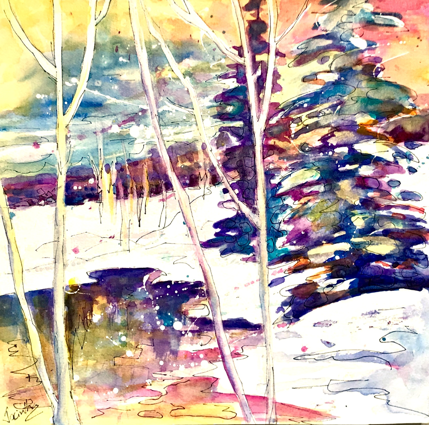 SOLD - WINTER SUN