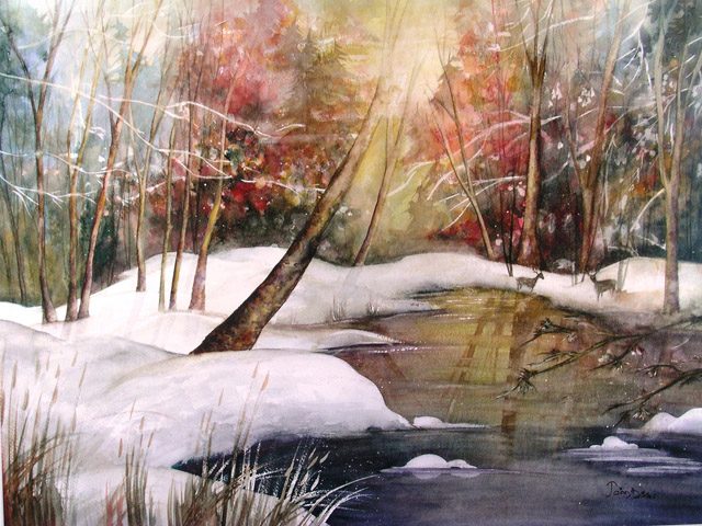 EARLY SNOW - SOLD