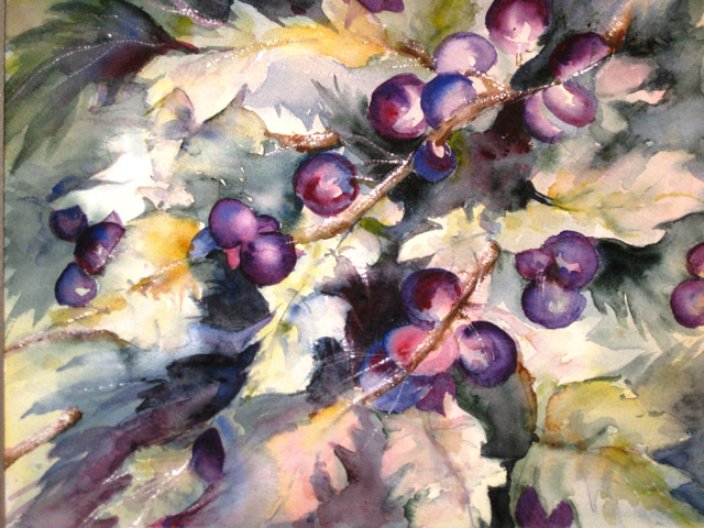 FALL GRAPEVINE - SOLD