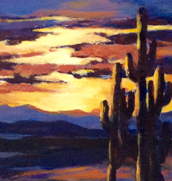 ARIZONA SUNSET - SOLD
