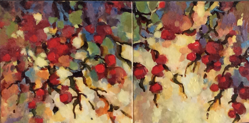 RED BERRIES - SOLD