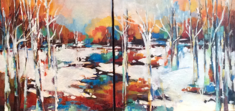 SOLD- JOY OF THE WINTER SUN