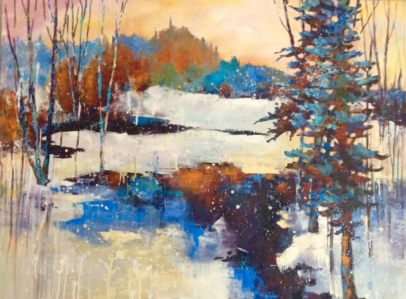 MUSKOKA MORNING - SOLD