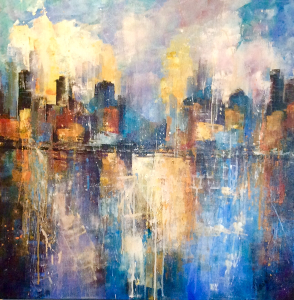VANCOUVER CITYSCAPE - SOLD