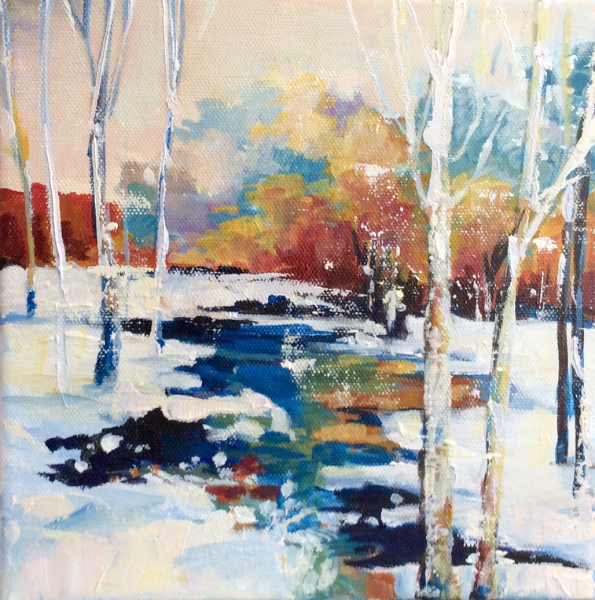 WINTER SUN - 2 - Sold