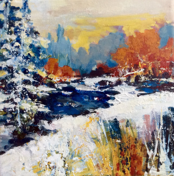 WINTER SUN - 3 - Sold