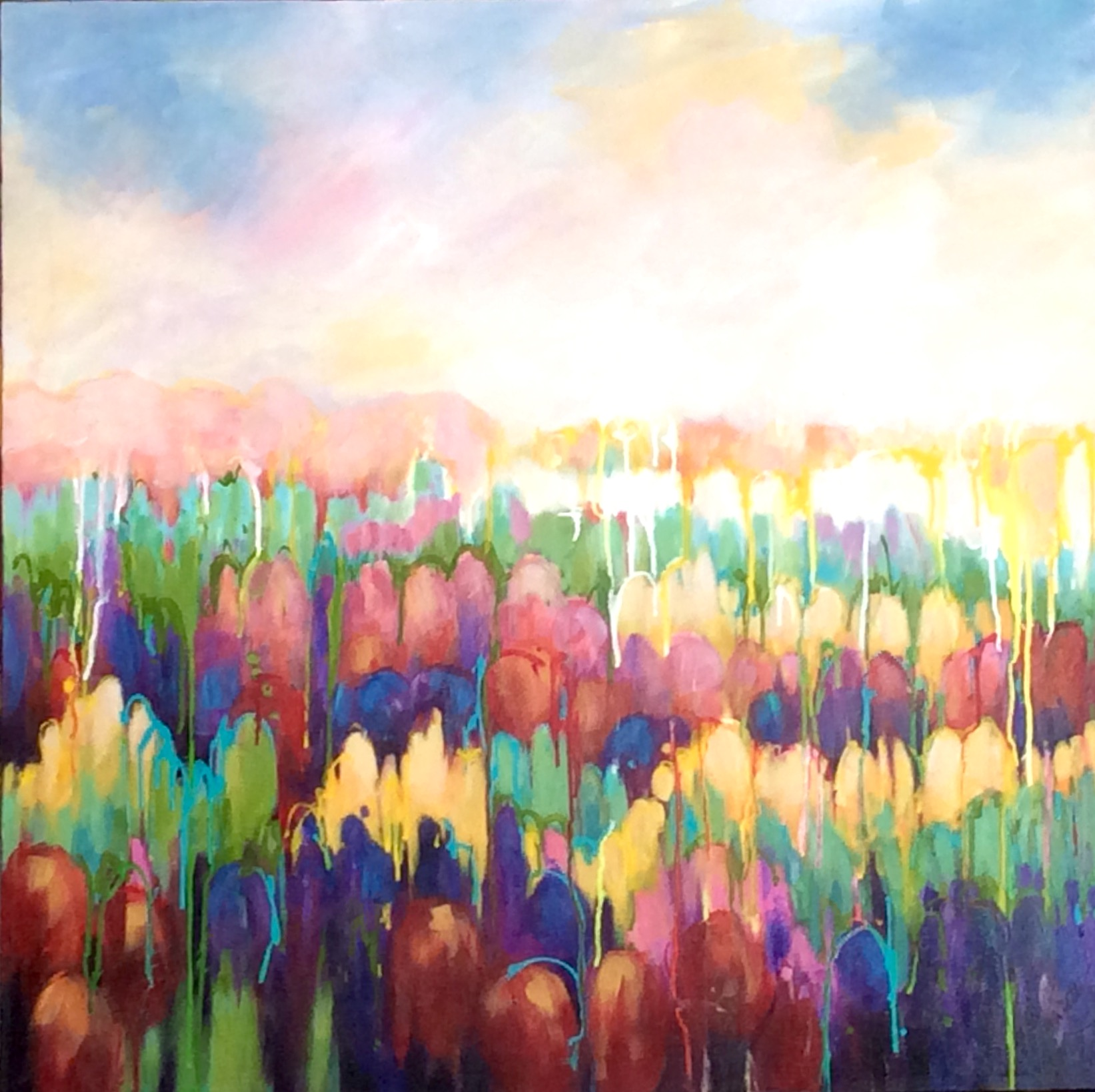 SOLD - FIELD OF COLOUR