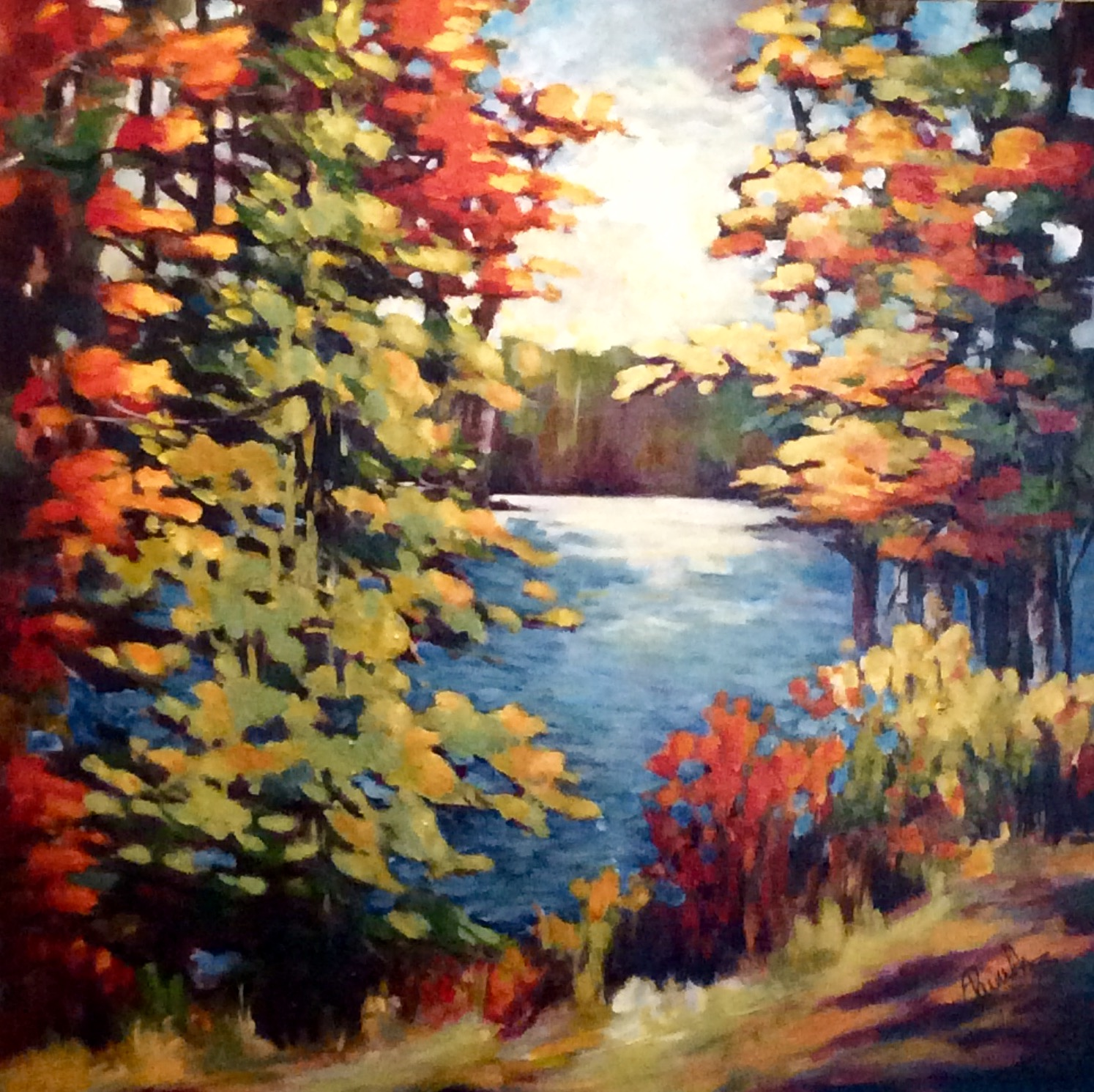 SOLD - COLOUR IN COTTAGE COUNTRY