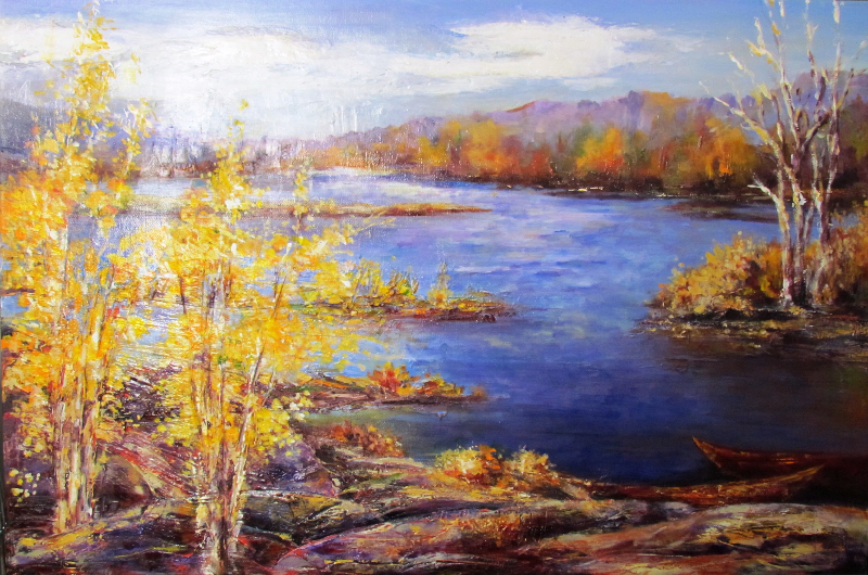 GEORGIAN BAY BIRCHES - SOLD