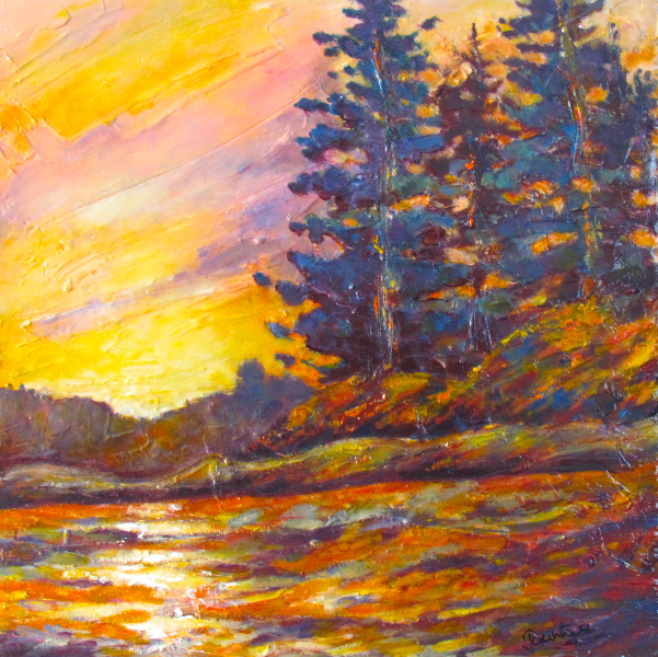 SUNSET GLOW - SOLD