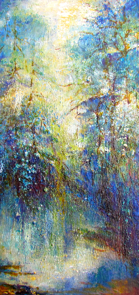 EMERALD FOREST AFTER THE RAIN - SOLD