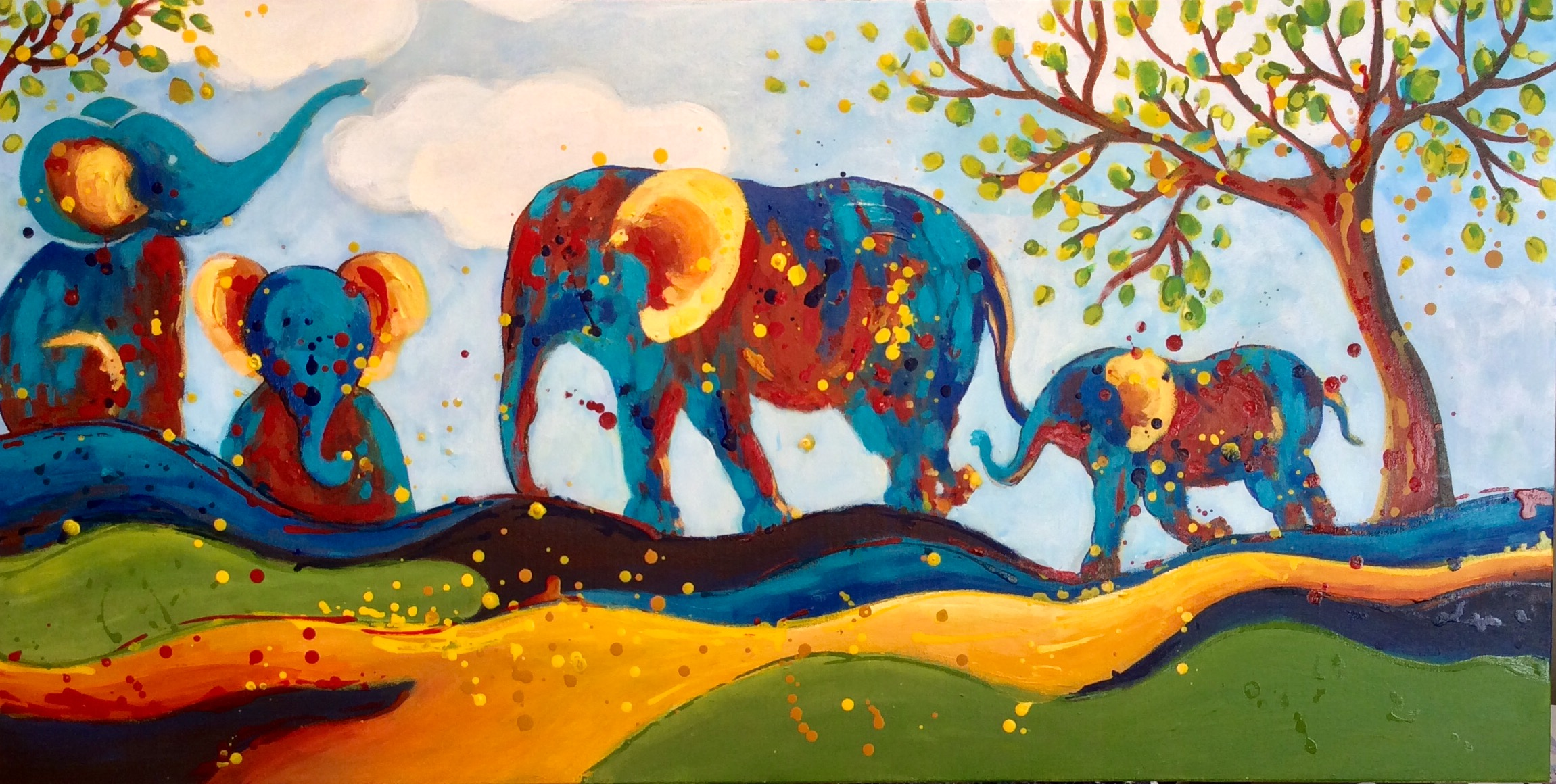 SOLD - ELEPHANT WALK