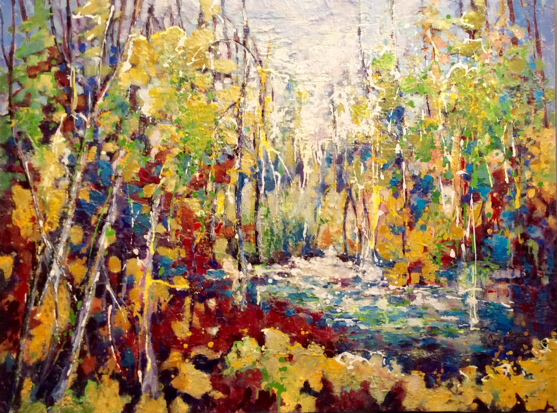 SOLD - INDIAN SUMMER SUN