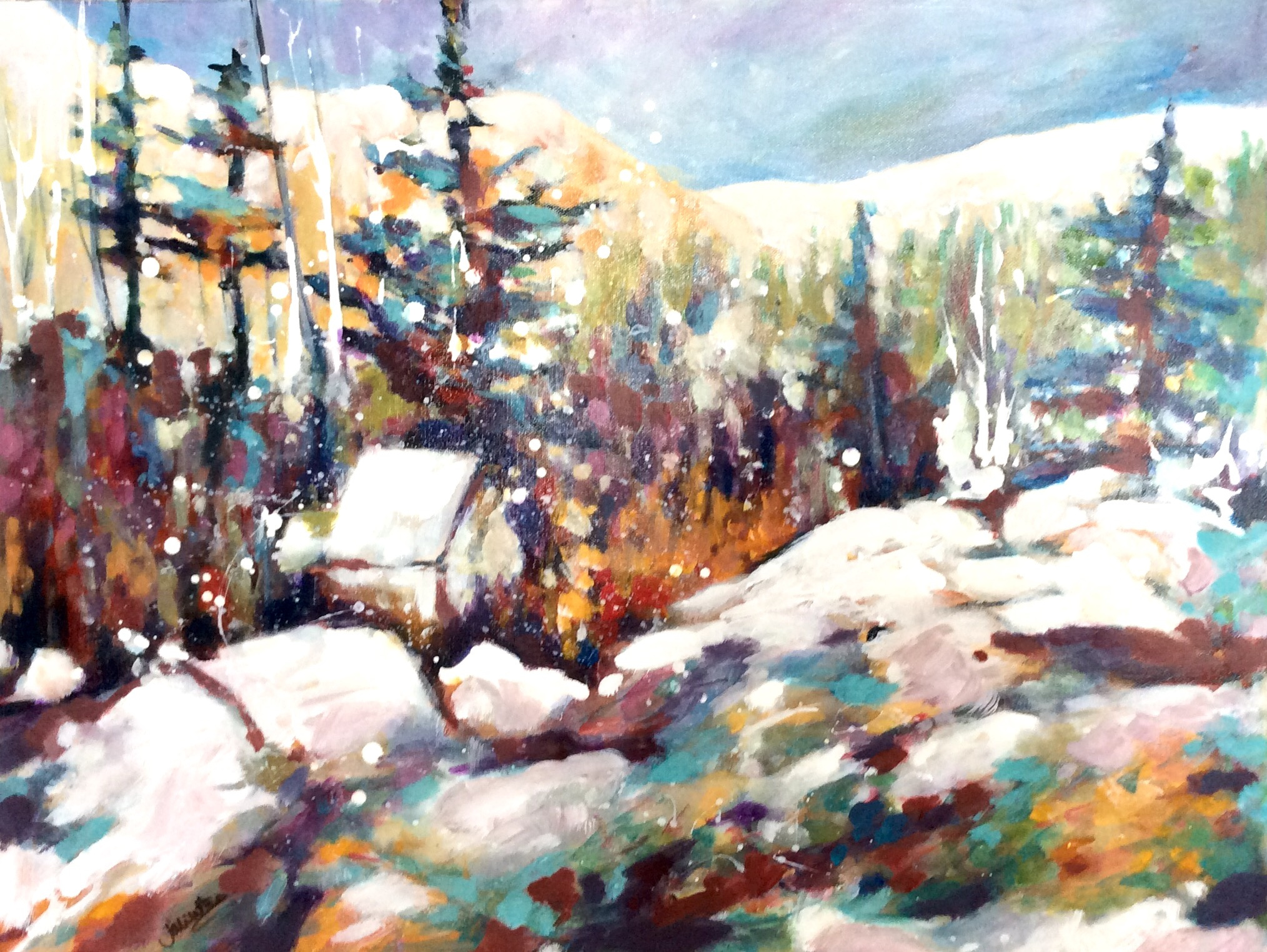 SOLD - WINTER GETAWAY