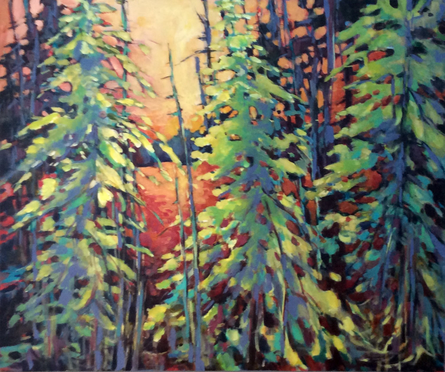 SOLD- FOREST GLOW