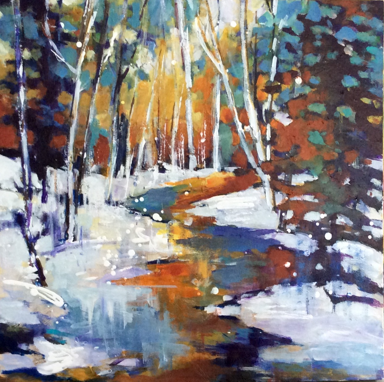 SOLD - WINTER REFLECTIONS