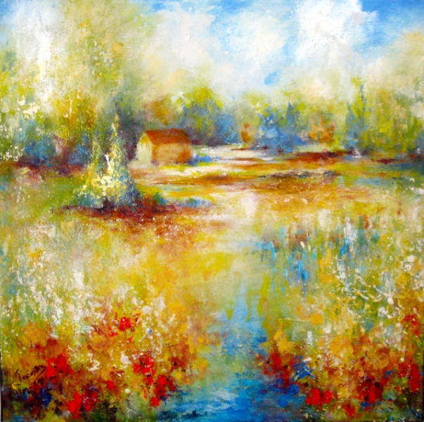 LAZY HAZY SUMMER DAYS - SOLD
