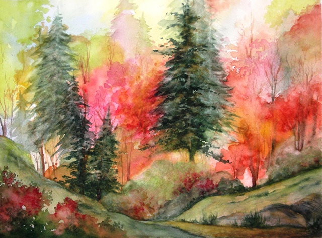 MOUNTAIN FLAME - SOLD