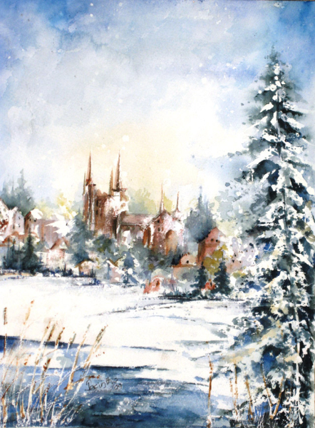 PENETANG WINTERSCAPE - SOLD